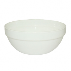 40010-03-09 Salad bowl 7 'White A1