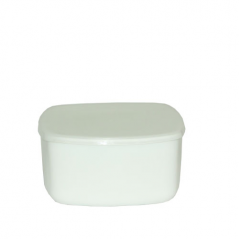 40010-03-10 5.5 Salad bowl 'white box with a lid A1