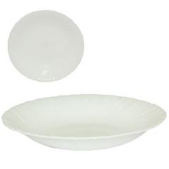 40010-02 Тарелка 8,5' суп. белая A2