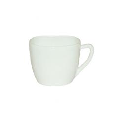 40010-09-220 Чашка Белая 220мл квадрат. A1