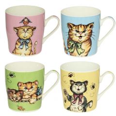 5061 Чашка Веселые коты 280мл