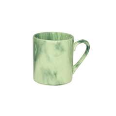 50189 Чашка Офисная Радуга зеленая 340мл
