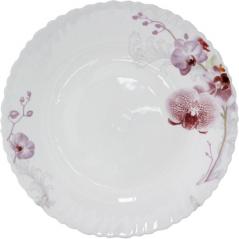 30067 Тарелка суп 8,5' Розовая орхидея 61099