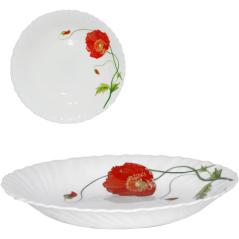30067-1067 Тарелка суп 8,5 <a href='http://snt.od.ua/ru/poisk.html?q=Красный мак' />Красный мак</a>