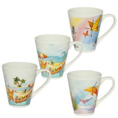 4160-1 Чашка 300мл Пляж