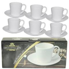 FD-2603-A Набор чайный 12 предметов (чашка-280мл, блюдце-16см)