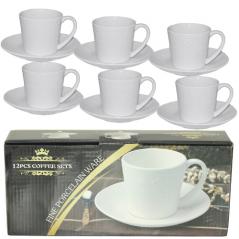 FD-2603-M Набор чайный 12 предметов (чашка-280мл, блюдце-16см)