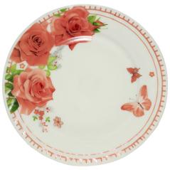 30058-002 Тарелка 9' 'Роза'