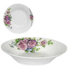 30083-002 Тарелка суповая 8'  Волшебная роза