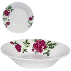 30083-003 Тарелка суповая 8' Цветущий пион