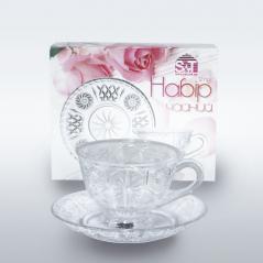 7190-3 Набор чайный 12пр. (чашка-200мл, блюдце-14,5см)