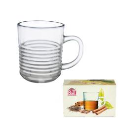 9304-3 Чашка стеклянная 260мл