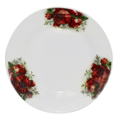 308 Тарелка 7,5 '802 Роза красная