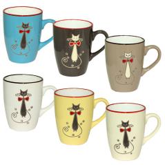 4160-3 Чашка 350мл Изящный кот