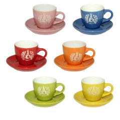 13650 Чашка с блюдцем (чашка-100мл, блюдце-11см) <a href='http://snt.od.ua/ru/poisk.html?q=Кофе' />Кофе</a> тайм