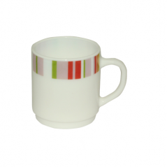 30068-61184 A cup of 250ml 'Rainbow Pink'