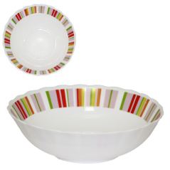 30061-61184 Salad bowl 8 '' Rainbow pink '
