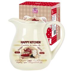 2234-11 Кувшин 'Happy Kitchen' (об-м 1л, h-14см)