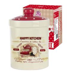 6923-11 Емкость для сыпучих продуктов 990мл  'Happy Kitchen'