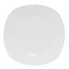 13606 Тарелка белая 8 (квадрат) Хорека
