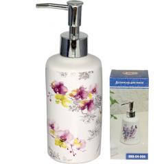 888-04-007 Диспенсер для мыла 'Орхидея' 5,5*19 см