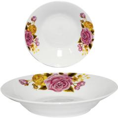 30083-006 Тарелка суповая 8' Янтарная роза