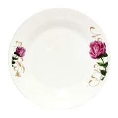 30080-007 Тарелка 7' Бордовая роза
