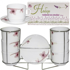 Tea set 12pr. Orchid on the counter (250ml)