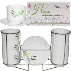 Tea set 12pr. Provence on the rack (250ml)