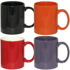 3575-12 Чашка 320мл микс вариант от 1 до 4 цв.