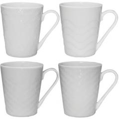 2089-01 Чашка белая 220 мл Метелица