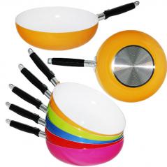 80215/1 Сковородка WOK с керамическим покрытием 28 см