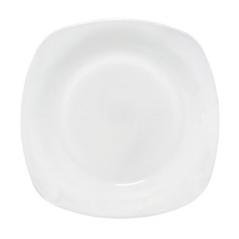 30100-02 Тарелка 7,5 'Белая квадрат