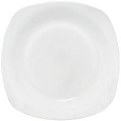30102-02 Тарелка 10,5 'Белая квадрат