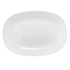 30113-02 Блюдо овал квадр.край 9,5' Белое