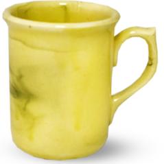 50183 Чашка цилиндр <a href='http://snt.od.ua/ru/poisk.html?q=радуга' />радуга</a> желто-зеленая 200 мл