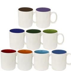 3577-7 Чашка <a href='http://snt.od.ua/ru/poisk.html?q=Микс 4' />Микс 4</a>80мл вариант от 1 до 7 кол белая снаружи