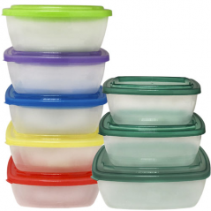 102-013 Набор контейнеров для пищевых продуктов (0,6л., 1л., 1,5л.)