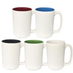 040-01-51-1 Чашка микс 400 мл от 1 до 6 цв. - черная или белая снаружи