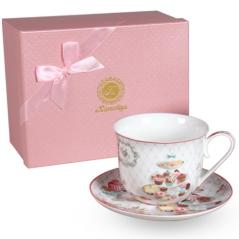 2043 Чашка с блюдцем Десерт (блюдце - 16,5см, чашка - 500мл)