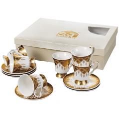 030-12-220 Сервиз чайный Золотая соната 12пр. 220мл