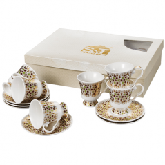 031-12-220 Сервиз чайный Золотая соната 12пр. 220мл