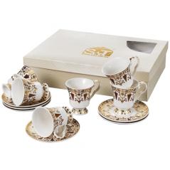 033-12-220 Сервиз чайный Золотая соната 12пр. 220мл