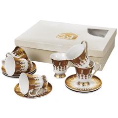 034-12-220 Сервиз чайный Золотая соната 12пр. 220мл