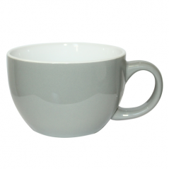 2034-12 Чашка Дужа Серая 400мл