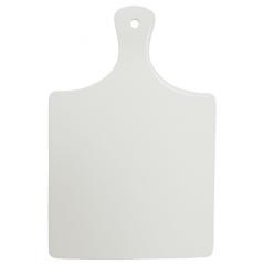 9603 Доска разделочная белая (25,5*39,5) Хорека