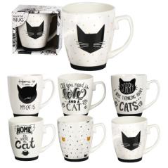 2079-04 Чашка Черная кошка 420мл