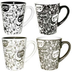 4160-23 Чашка Cat style 320мл