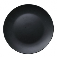 4190-03 Тарелка десертная черная 20см