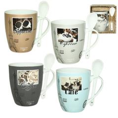 2063-13 Чашка с ложкой 360мл <a href='http://snt.od.ua/ru/poisk.html?q=Кофе' />Кофе</a>